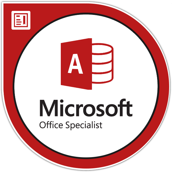 Microsoft Office Access Specialist