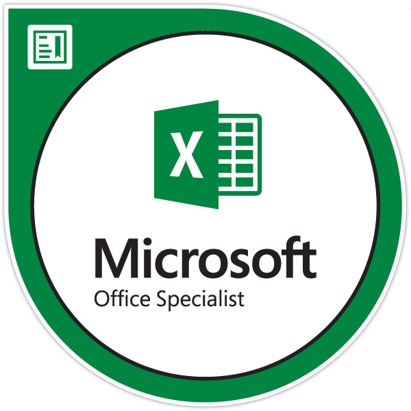 Microsoft Office Excel Specialist