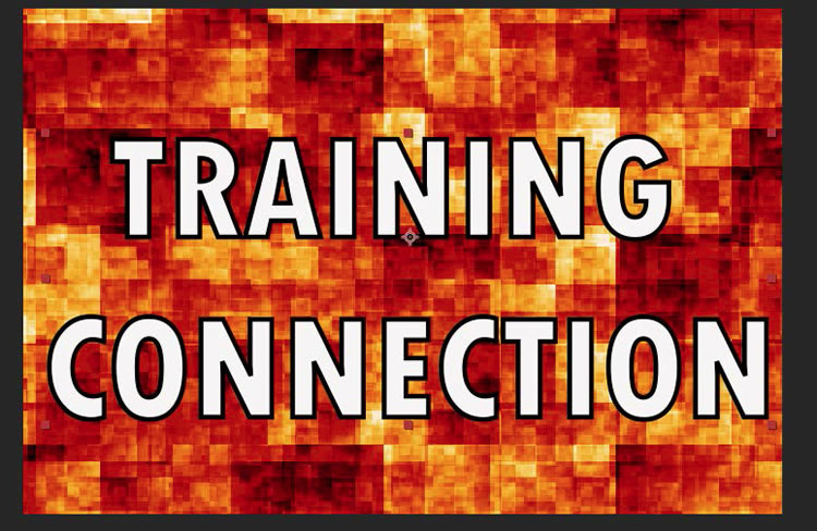 Add the words Training Connection