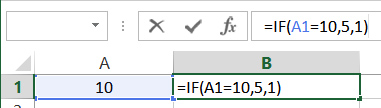 Conditional IF Function
