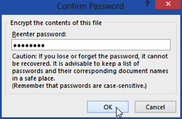 Confirm - password