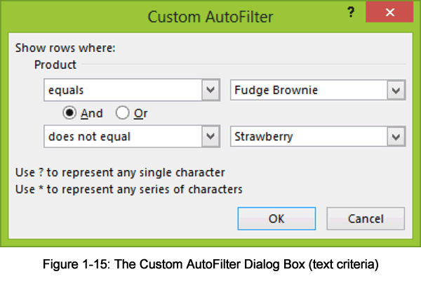 Custom Autofilter Dialog Box - Text criteria