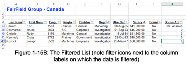 The Filter List
