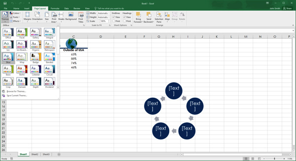 excel theme elements screenshot