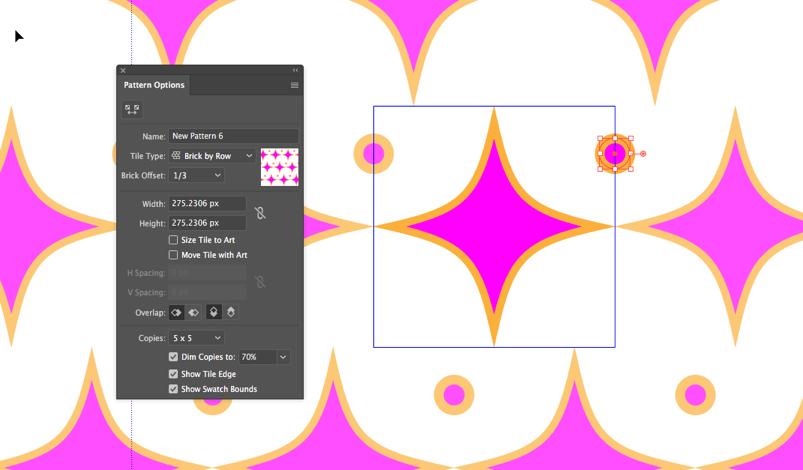 Pattern settings