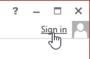 click to log-in