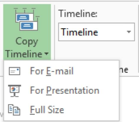 Copy Timeline Command