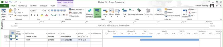 two tasks overlap