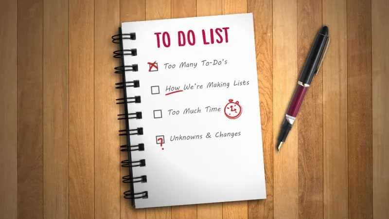 Using a TO-DO-LIST
