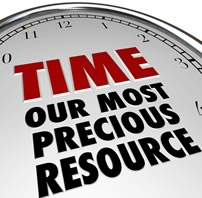 Our most precious resource is Time